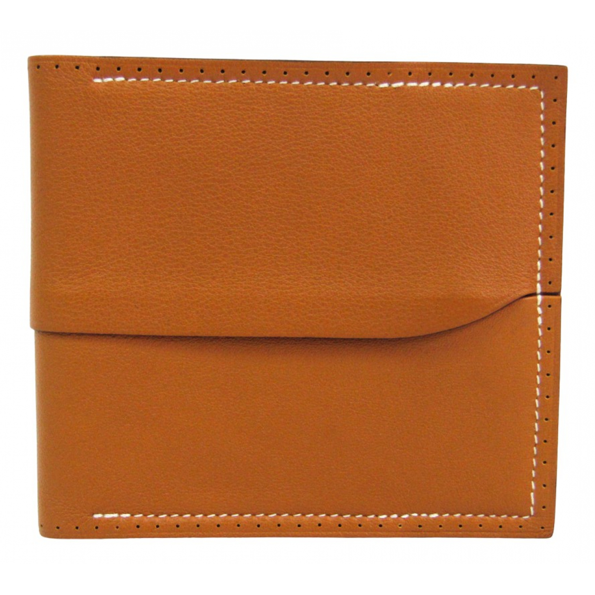 Hermes \N Portemonnaie in  Gold Leder