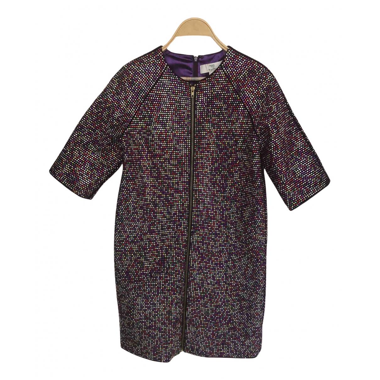 Hoss Intropia \N Kleid in  Bunt Mit Pailletten