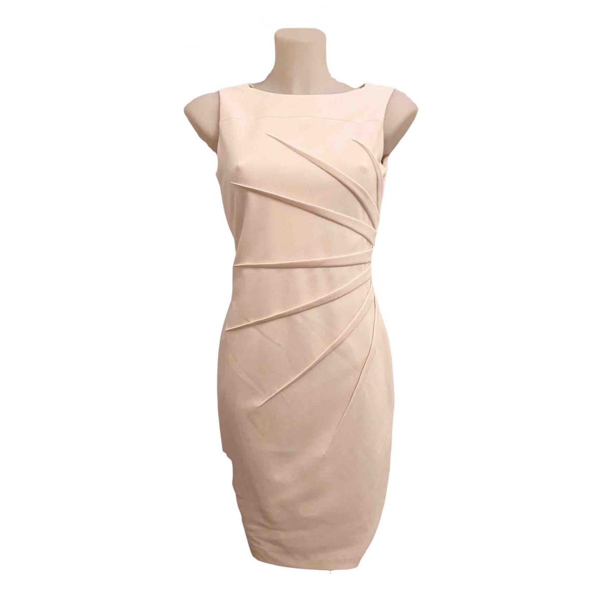Calvin Klein \N Kleid in  Rosa Baumwolle - Elasthan
