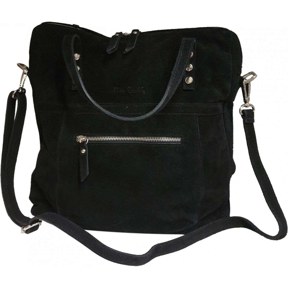 Pierre Cardin \N Black Suede handbag for Women \N