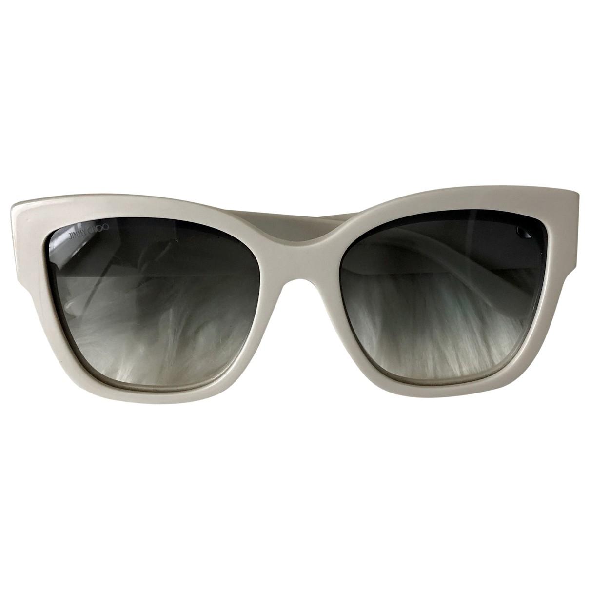 Jimmy Choo \N White Sunglasses for Women \N