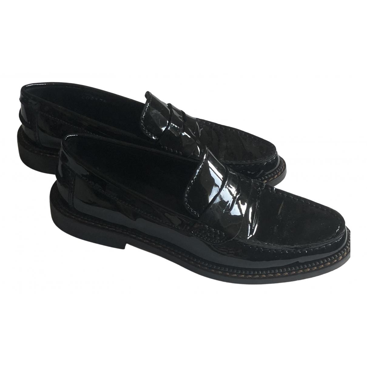 Dolce & Gabbana N Black Leather Mules & Clogs for Women 35 EU