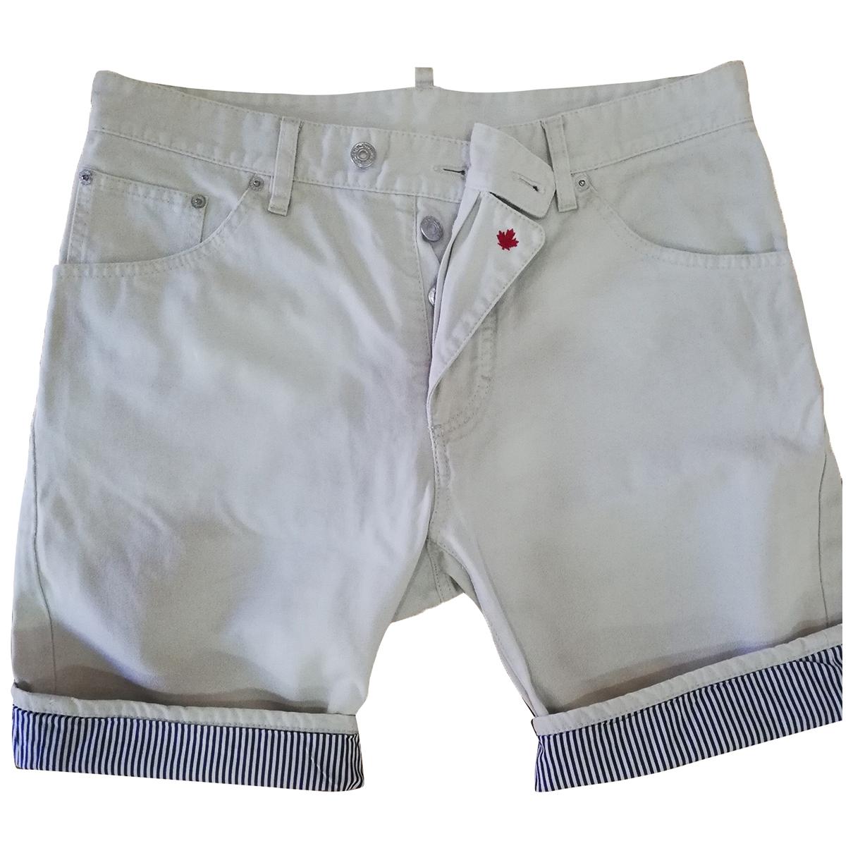 Dsquared2 - Short   pour homme en coton - beige