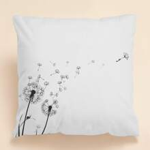Dandelion Print Cushion Cover Without Filler
