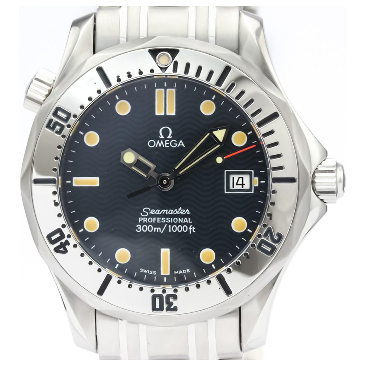 Omega Seamaster 300 Blue Steel watch for Women \N