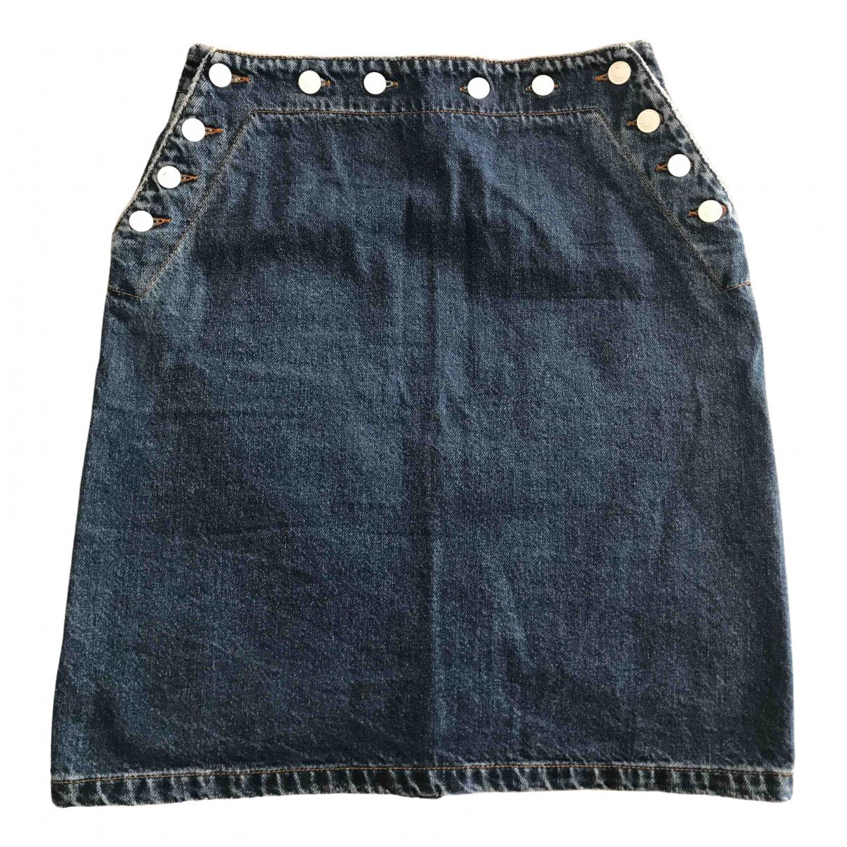 Msgm \N Rocke in  Blau Denim - Jeans