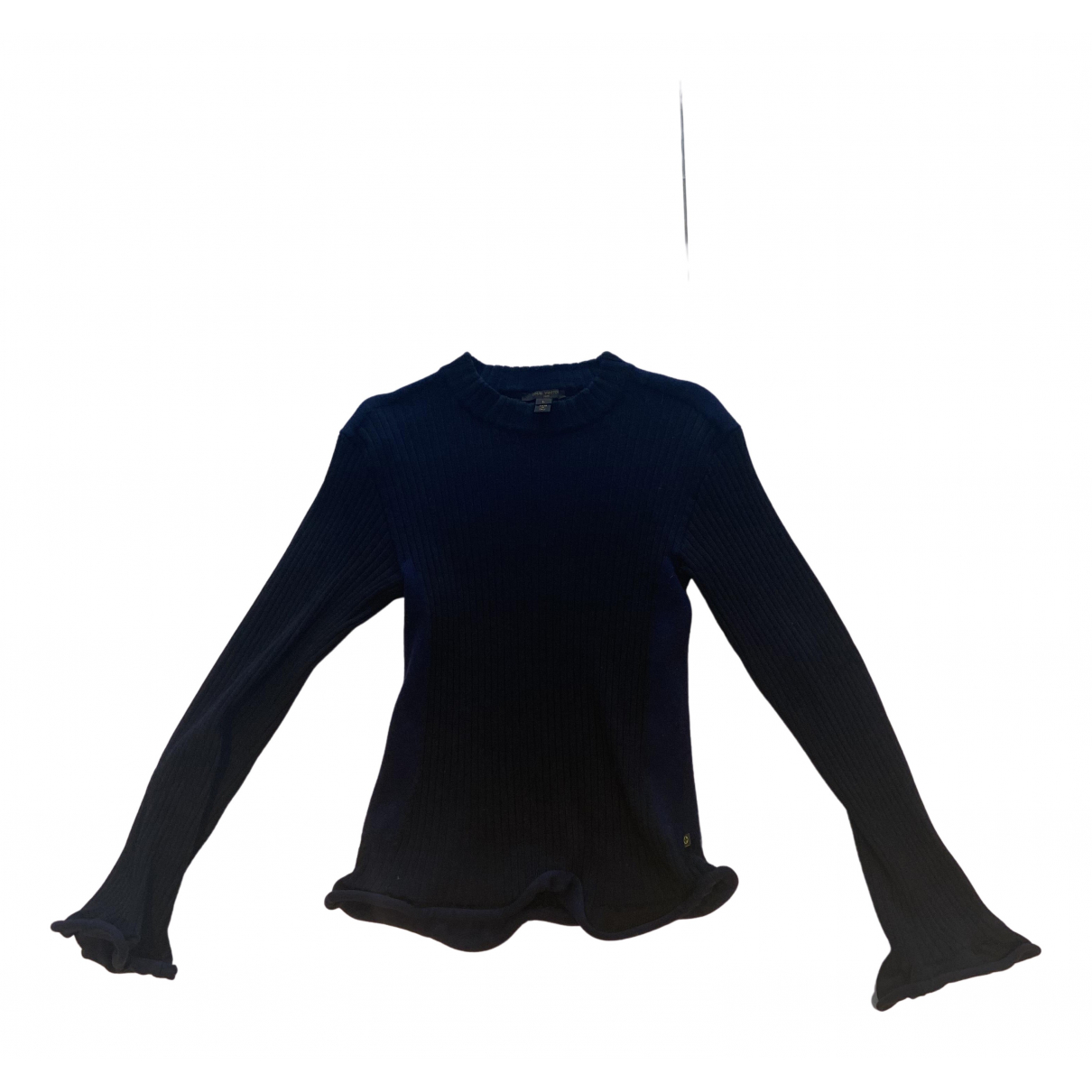Louis Vuitton - Pull   pour femme en laine - marine