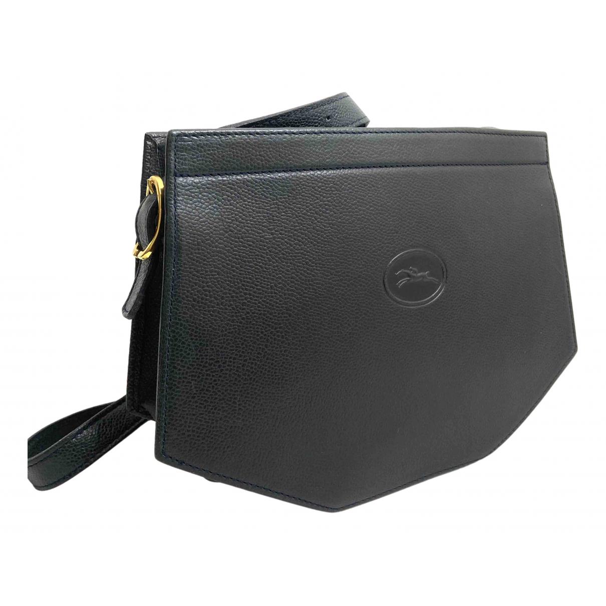Longchamp N Blue Leather handbag for Women N