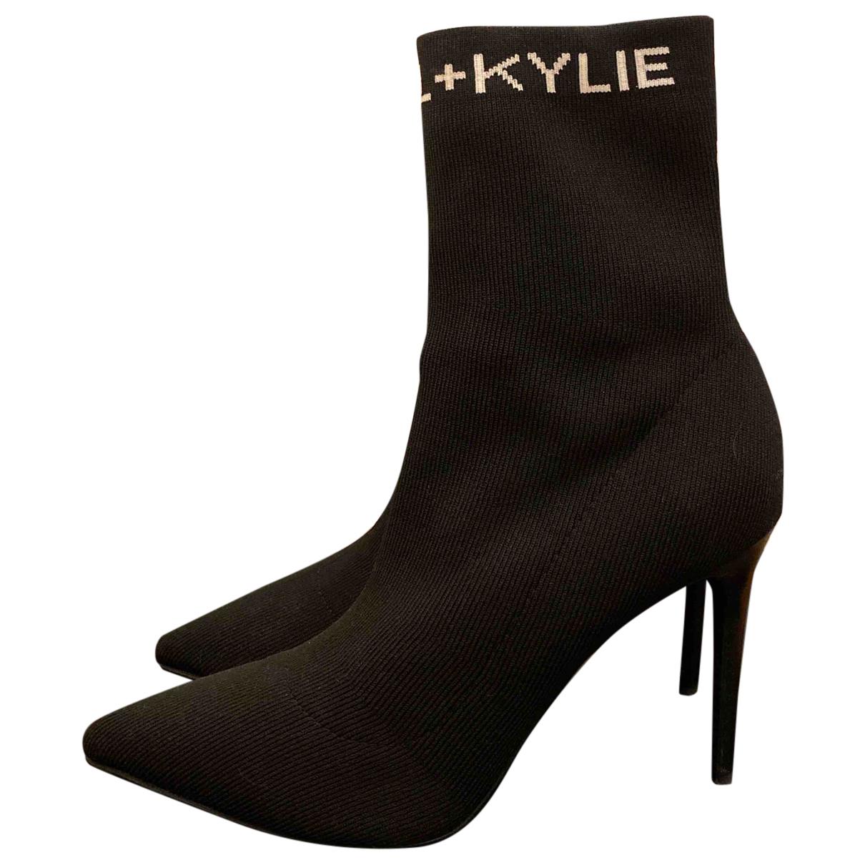 Tacones de Lona Kendall + Kylie