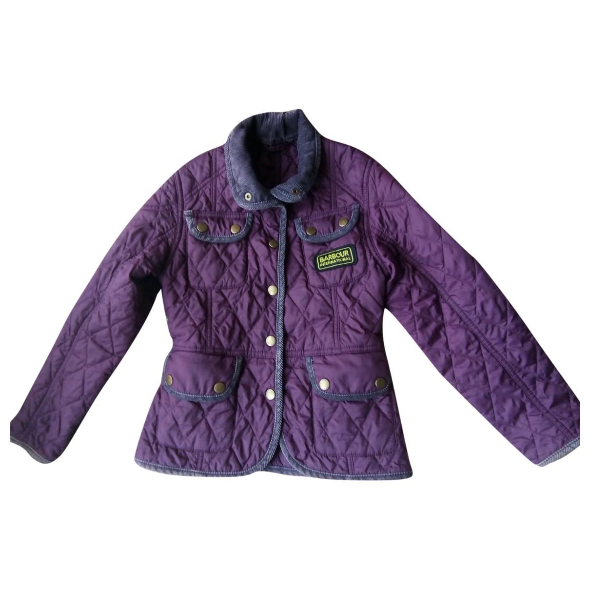 Barbour - Blousons.Manteaux   pour enfant - violet