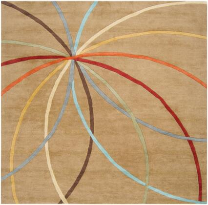 Forum FM-7140 4 Square Modern Rug in