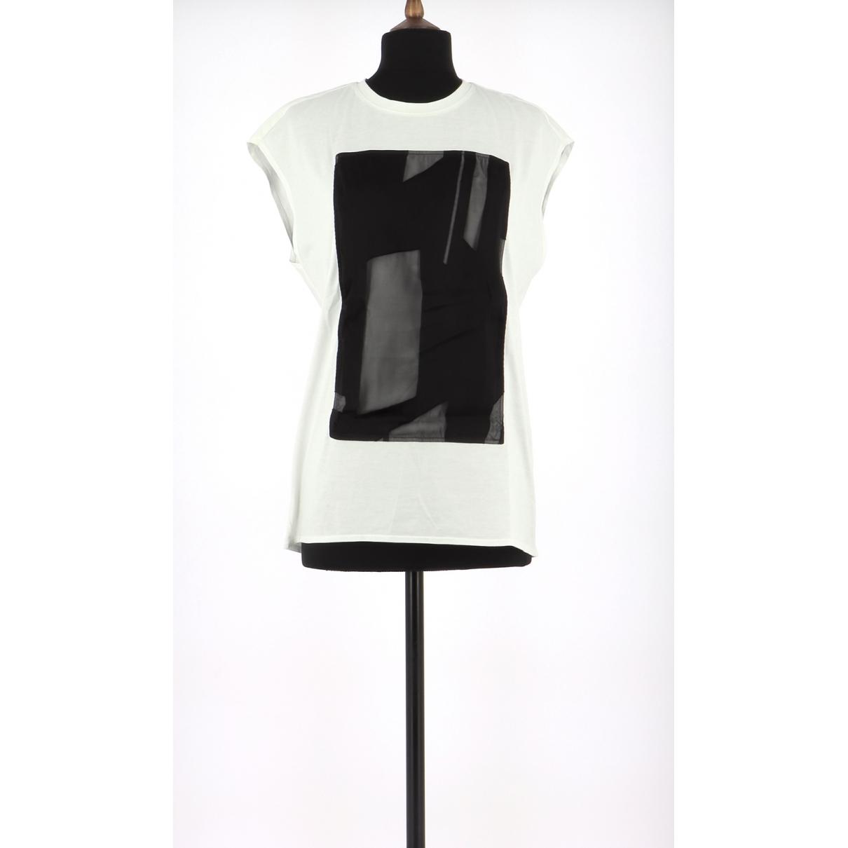 Helmut Lang N White Cotton  top for Women 36 FR