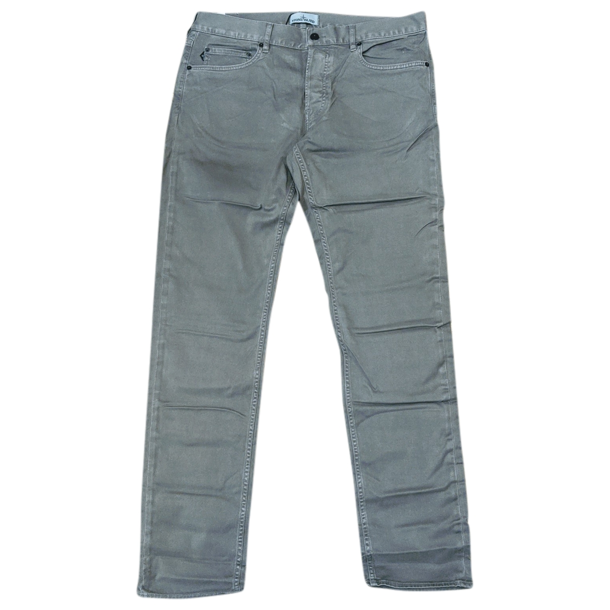 Stone Island \N Grey Cotton Trousers for Men 36 UK - US