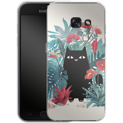 Samsung Galaxy A3 (2017) Silikon Handyhuelle - popoki von Little Clyde