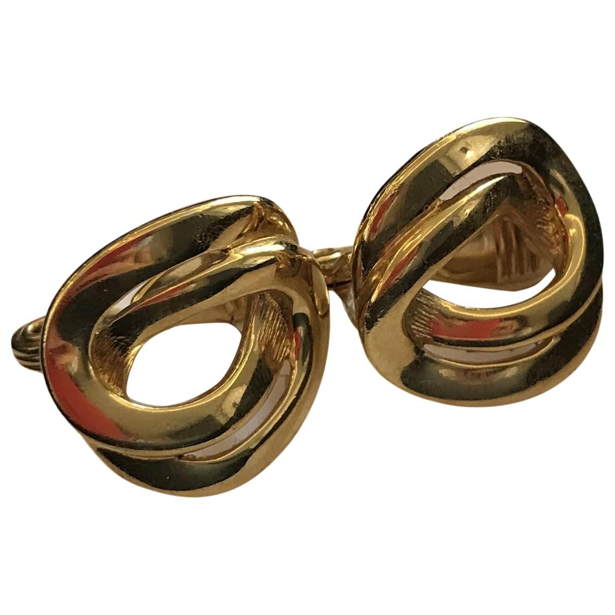 Susan Caplan Vintage - Boucles doreilles   pour femme en metal - dore