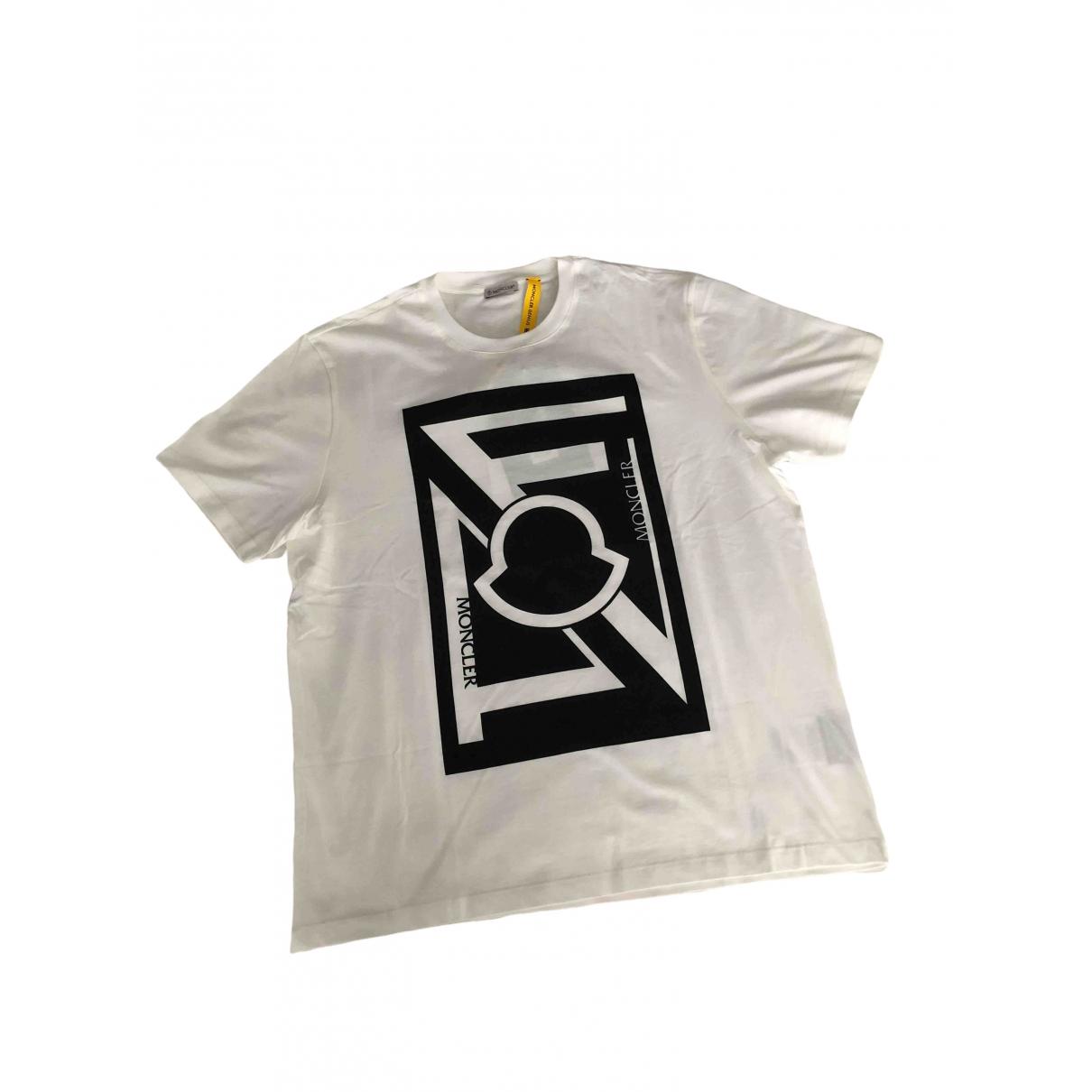 Moncler Genius - Tee shirts   pour homme en coton - blanc