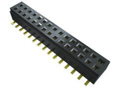 Samtec , CLM 1mm Pitch 40 Way 2 Row Straight PCB Socket, Surface Mount, Solder Termination (28)