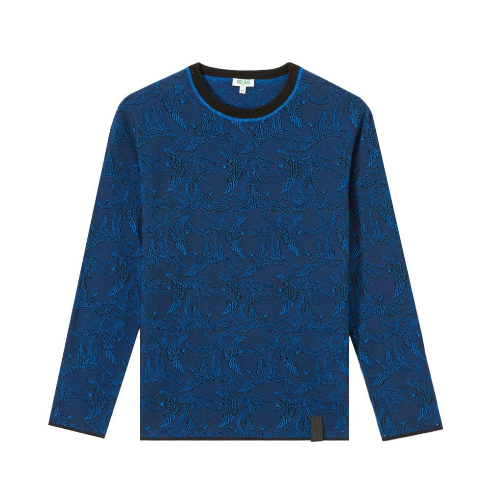 Kenzo Paris Flying Phoenix Jumper Colour: NAVY, Size: EXTRA LARGE