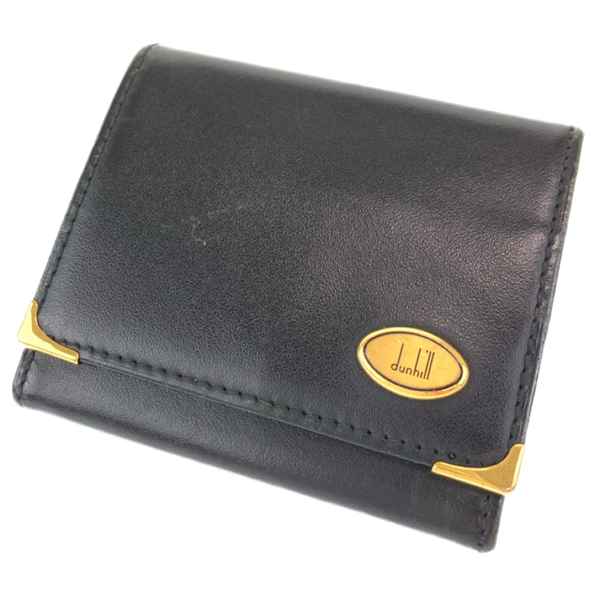 Alfred Dunhill \N Leather Small bag, wallet & cases for Men \N