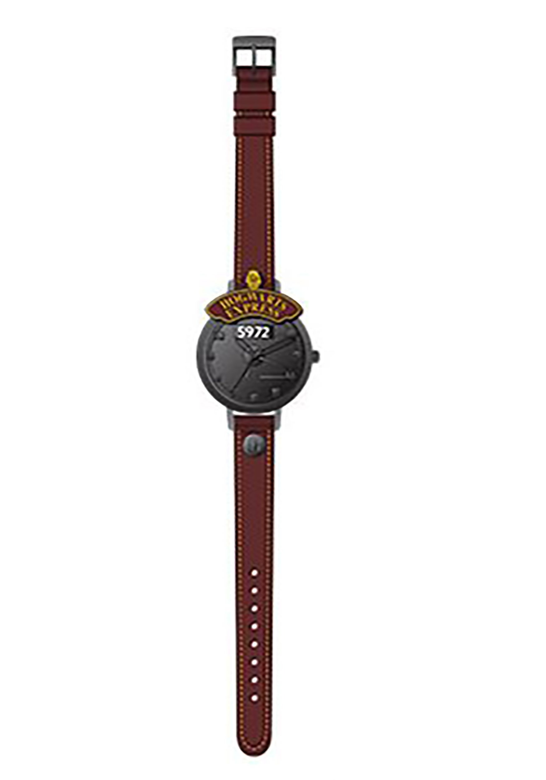 Harry Potter Hogwarts Express Molded Dial Stitched with Brown Strap