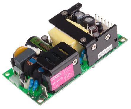 TRACOPOWER , 55W Embedded Switch Mode Power Supply SMPS, 5 V dc, 12 V dc, 24 V dc, Open Frame