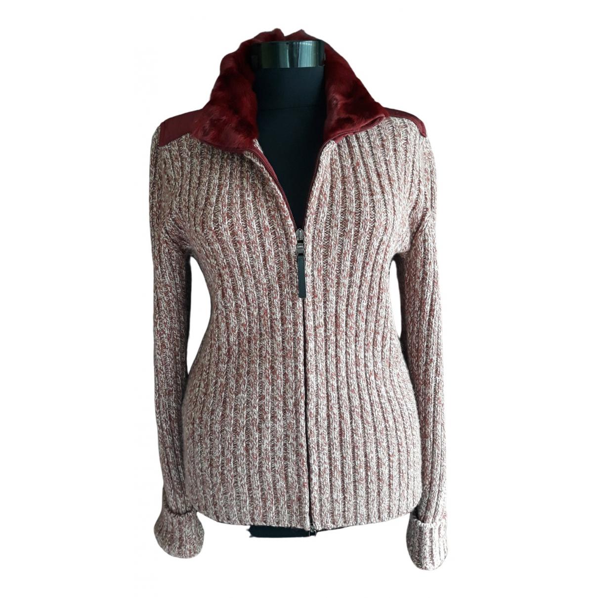 Prada N Burgundy Wool jacket for Women 46 IT