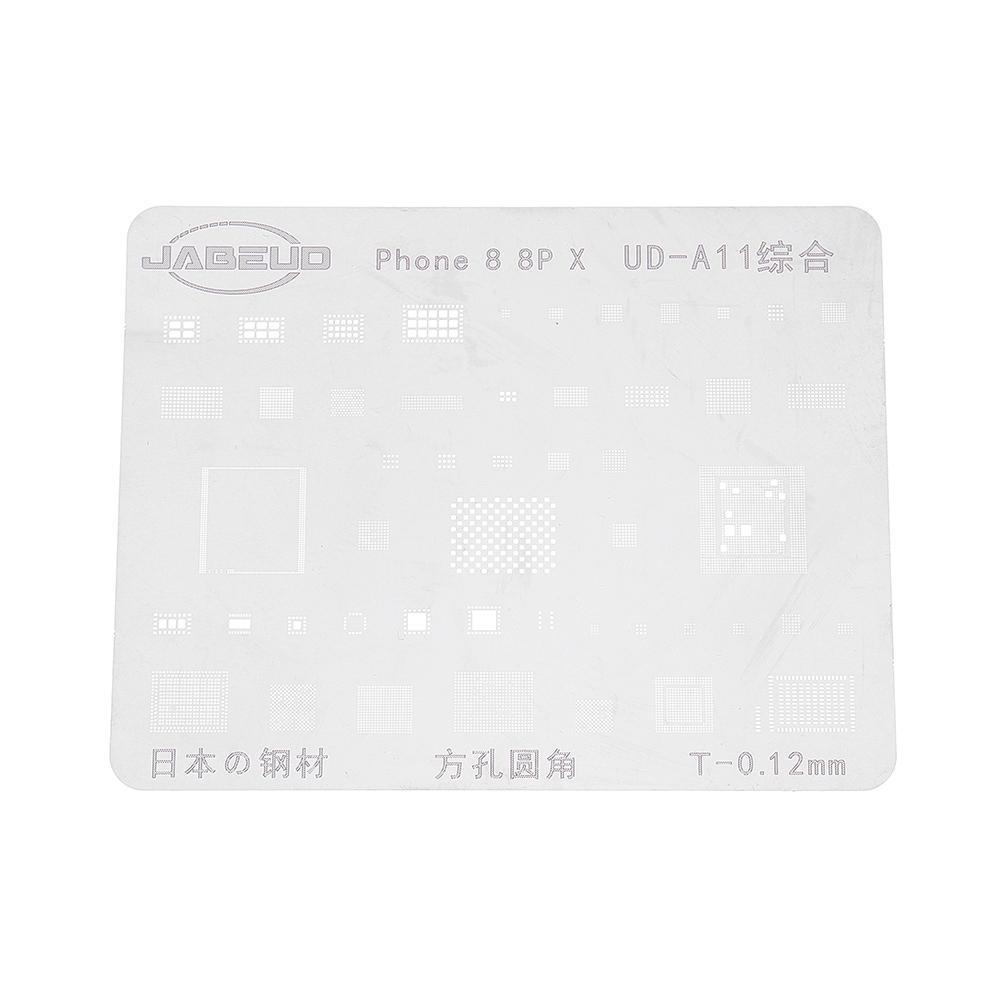 Precision BGA Reballing Stencil Plant Tin Steel Net Repair Tool For iPhone 5/5S/6/6P/6S/6SP/7/7P/8/8P/X/XS/XS MAX XR