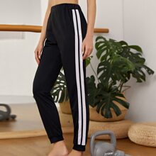 Pantalones deportivos de rayas
