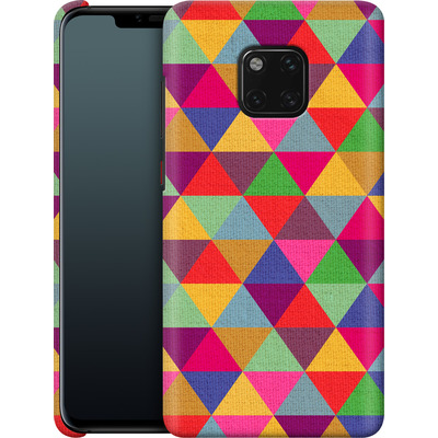Huawei Mate 20 Pro Smartphone Huelle - In Love With Triangles von Bianca Green