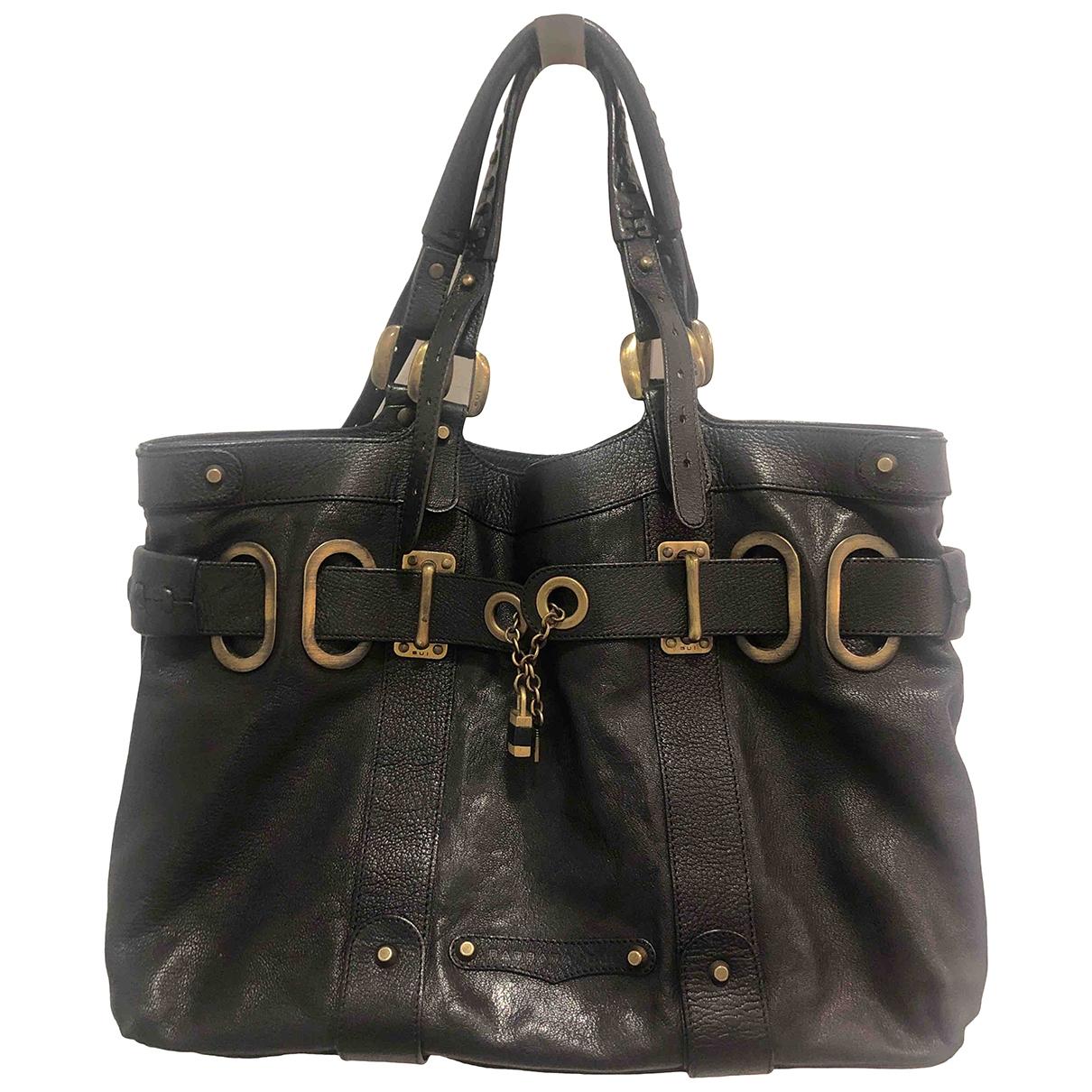 Barbara Bui \N Black Leather handbag for Women \N