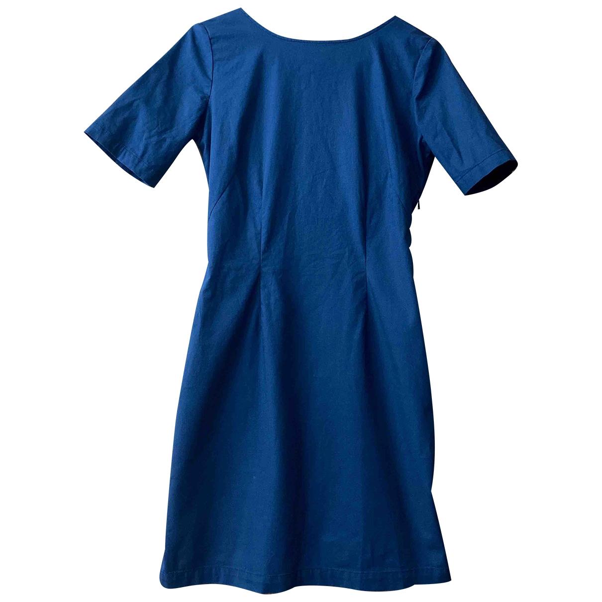 Sessun \N Kleid in  Marine Baumwolle - Elasthan