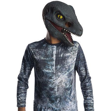 Jurassic World: Fallen Kingdom Velociraptor Kids 3/4 MaskOne-Size, One Size , Multiple Colors