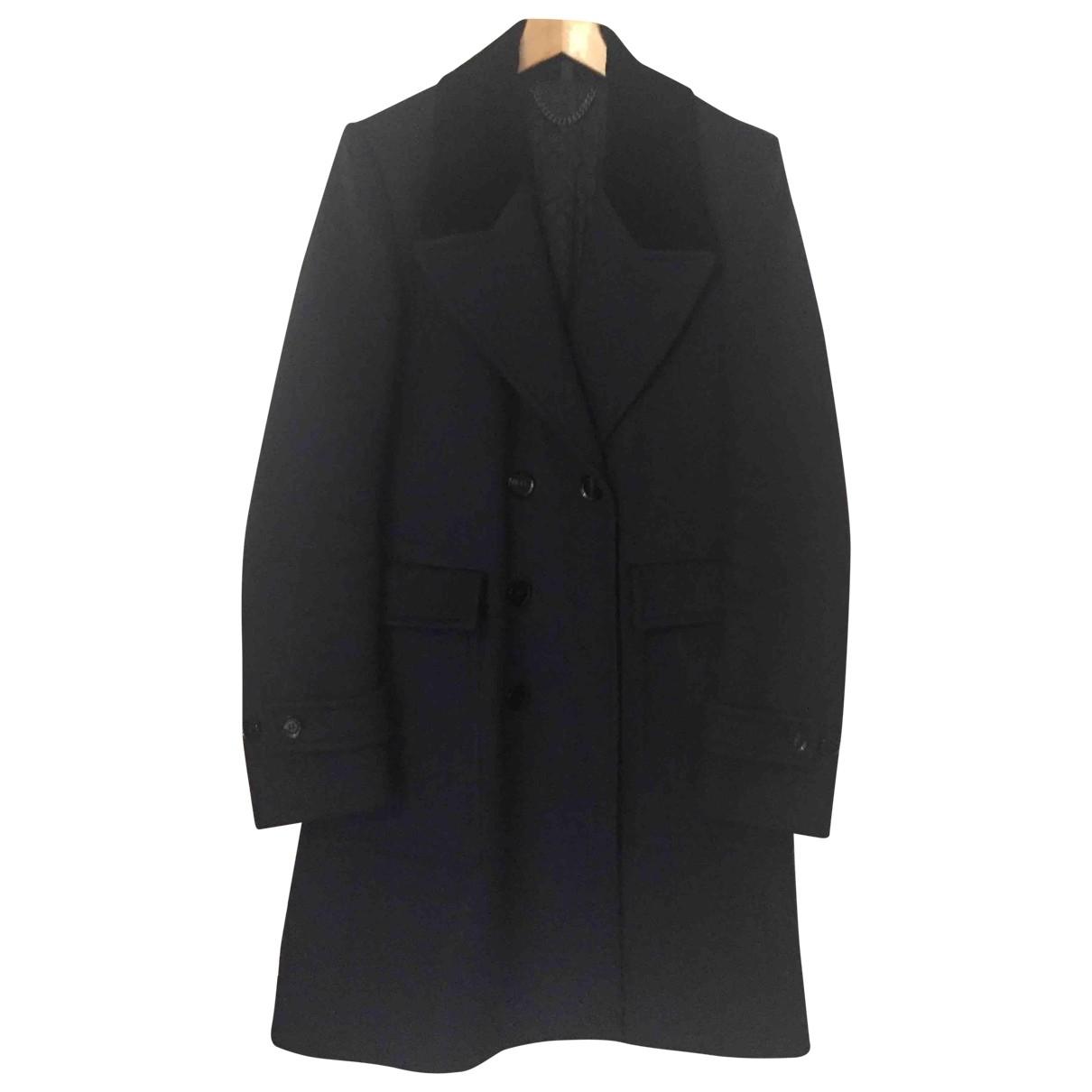 Burberry \N Navy Wool coat  for Men 48 IT