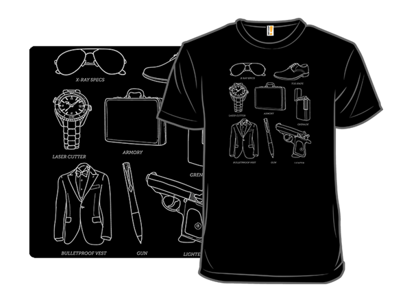 Secret Agent Starter Set T Shirt