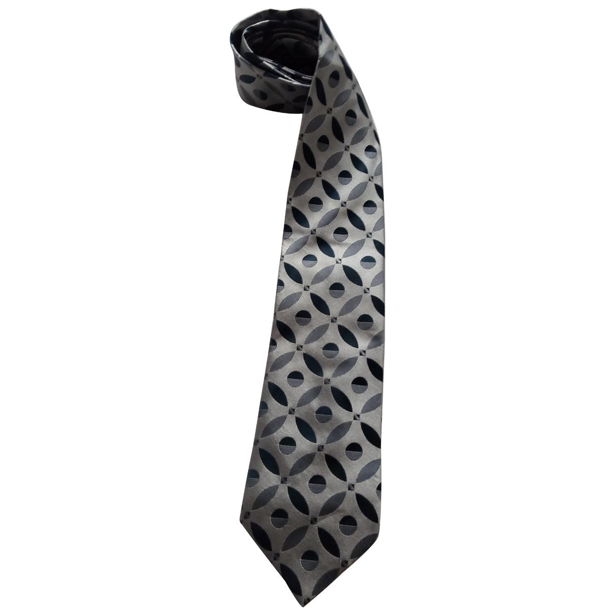 Gucci - Cravates   pour homme en soie - gris