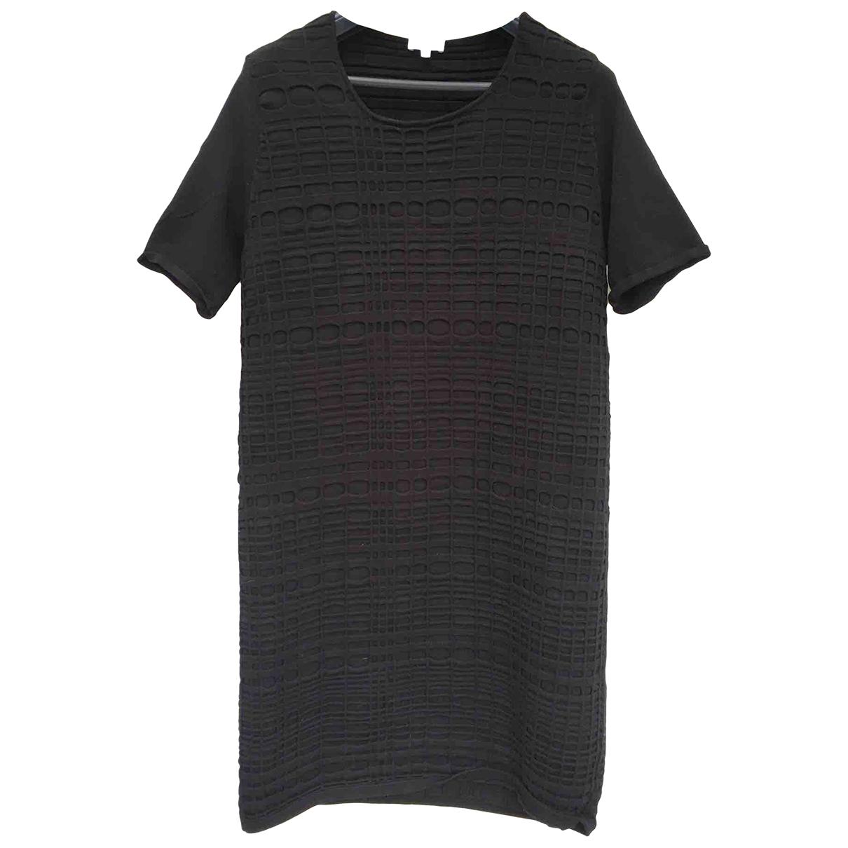 Escada \N Black Cotton - elasthane dress for Women 42 FR