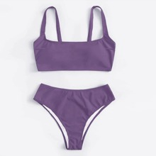 Bikini Badeanzug mit hoher Taille