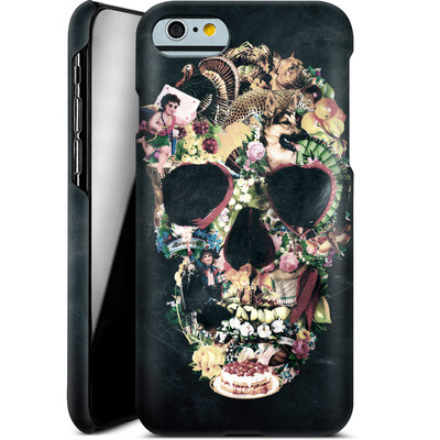 Apple iPhone 6 Smartphone Huelle - Vintage Skull von Ali Gulec