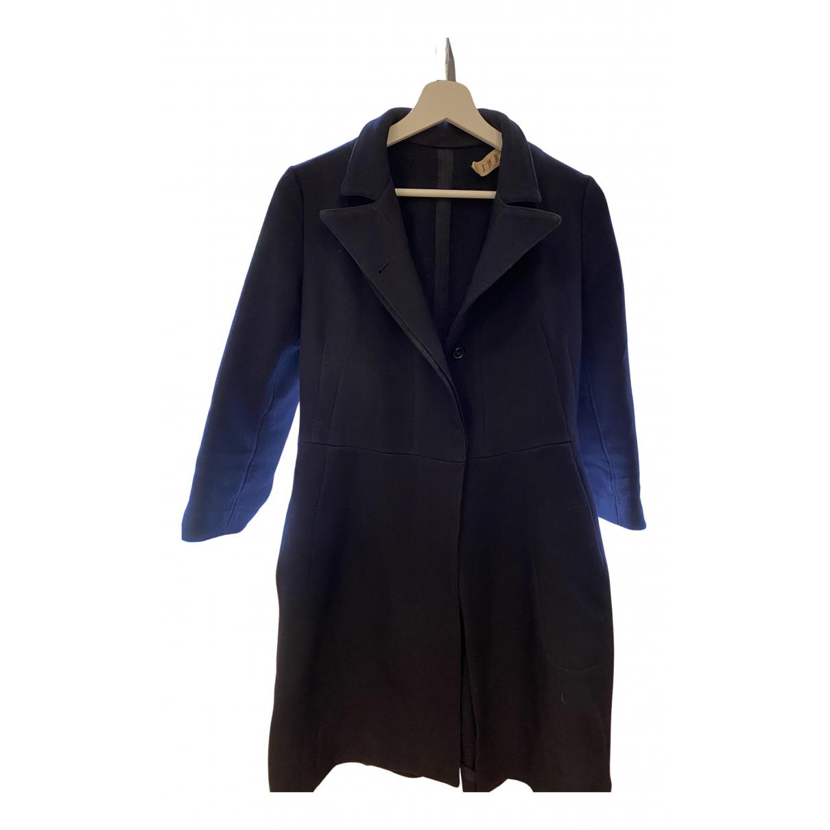 Marni - Manteau   pour femme en coton - noir