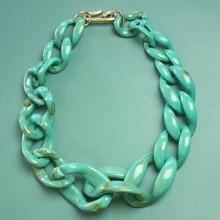Harz Halskette mit Kette