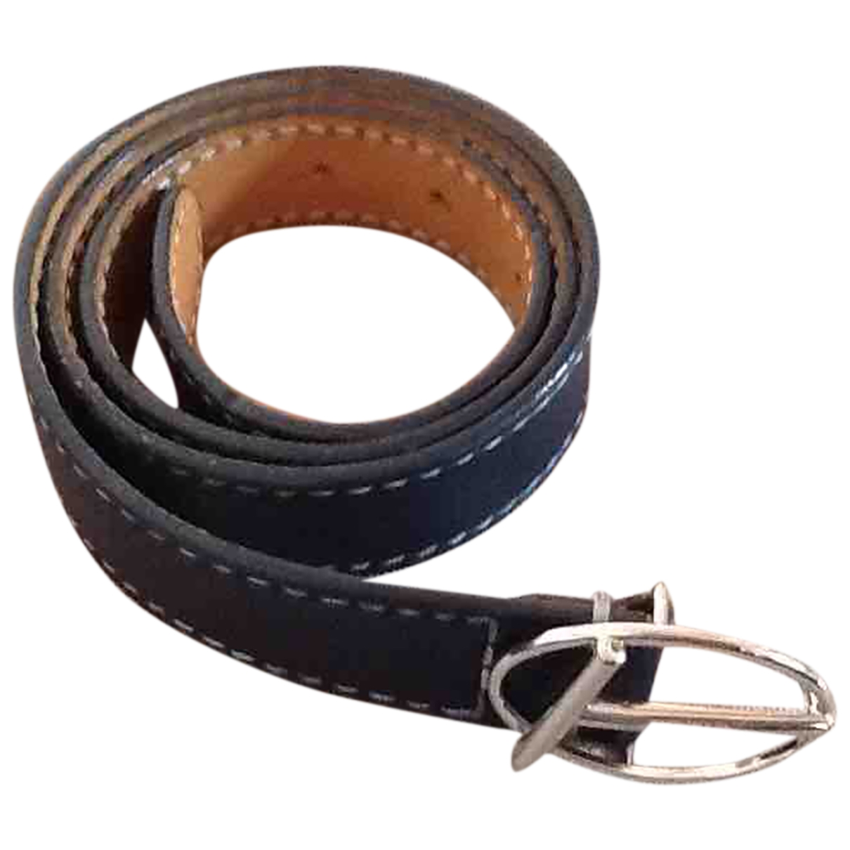 Tods \N Blue Leather belt for Women 95 cm