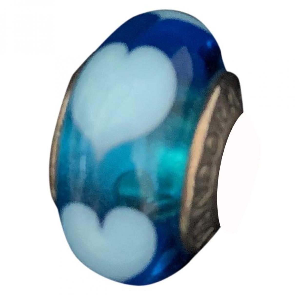 Pandora \N Anhaenger in  Blau Silber