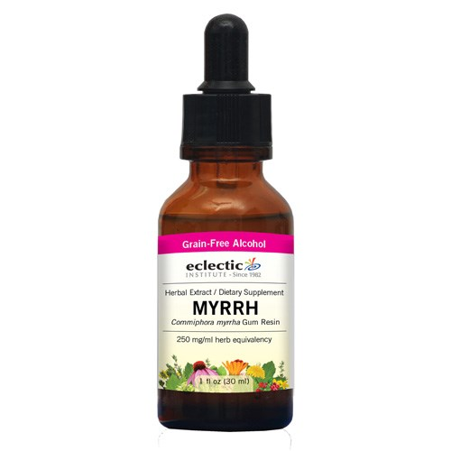 Myrrh 1 Oz with Alcohol by Eclectic Institute Inc