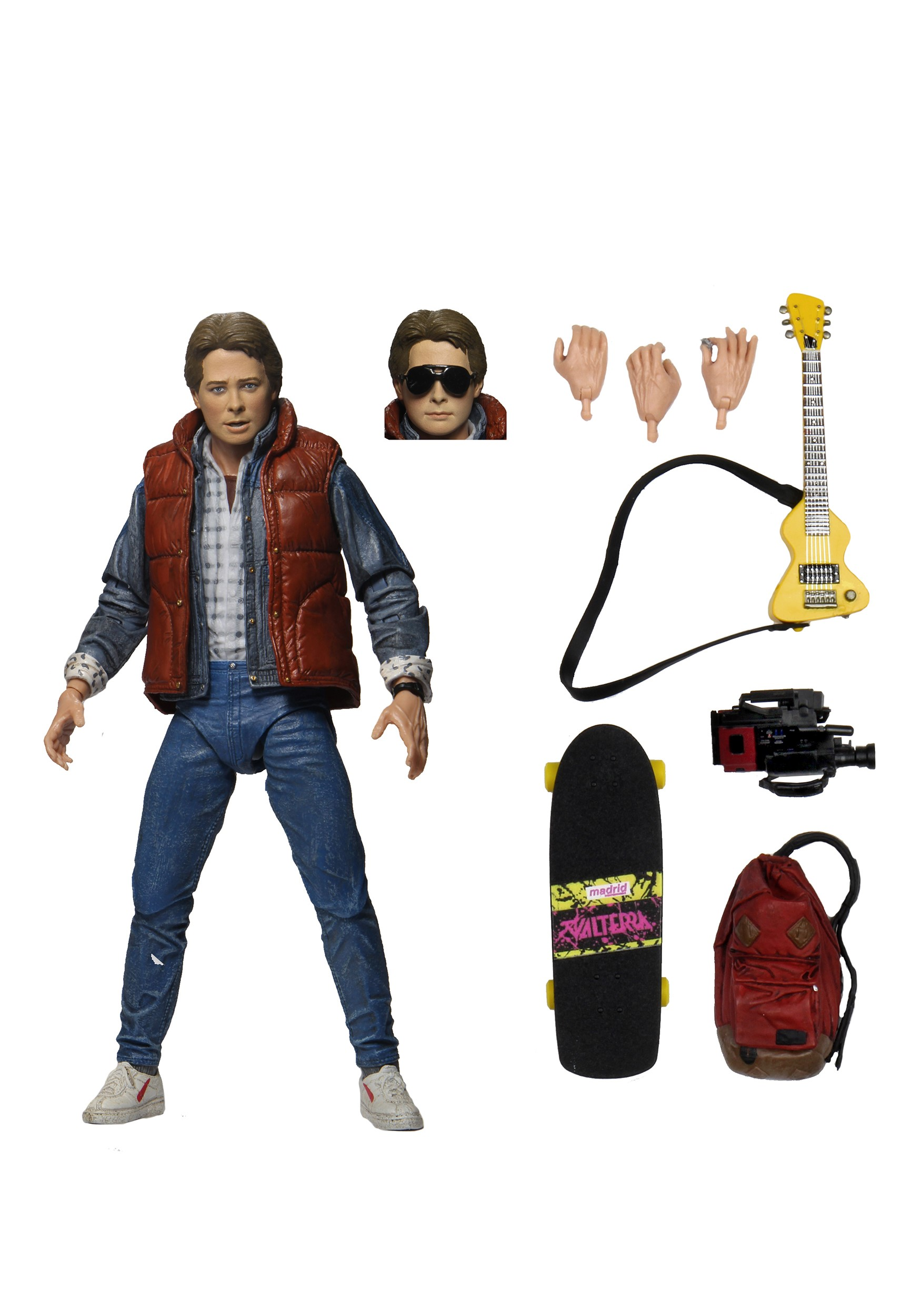 Back to the Future | Ultimate Marty McFly 7 Inch Scale Action Figure