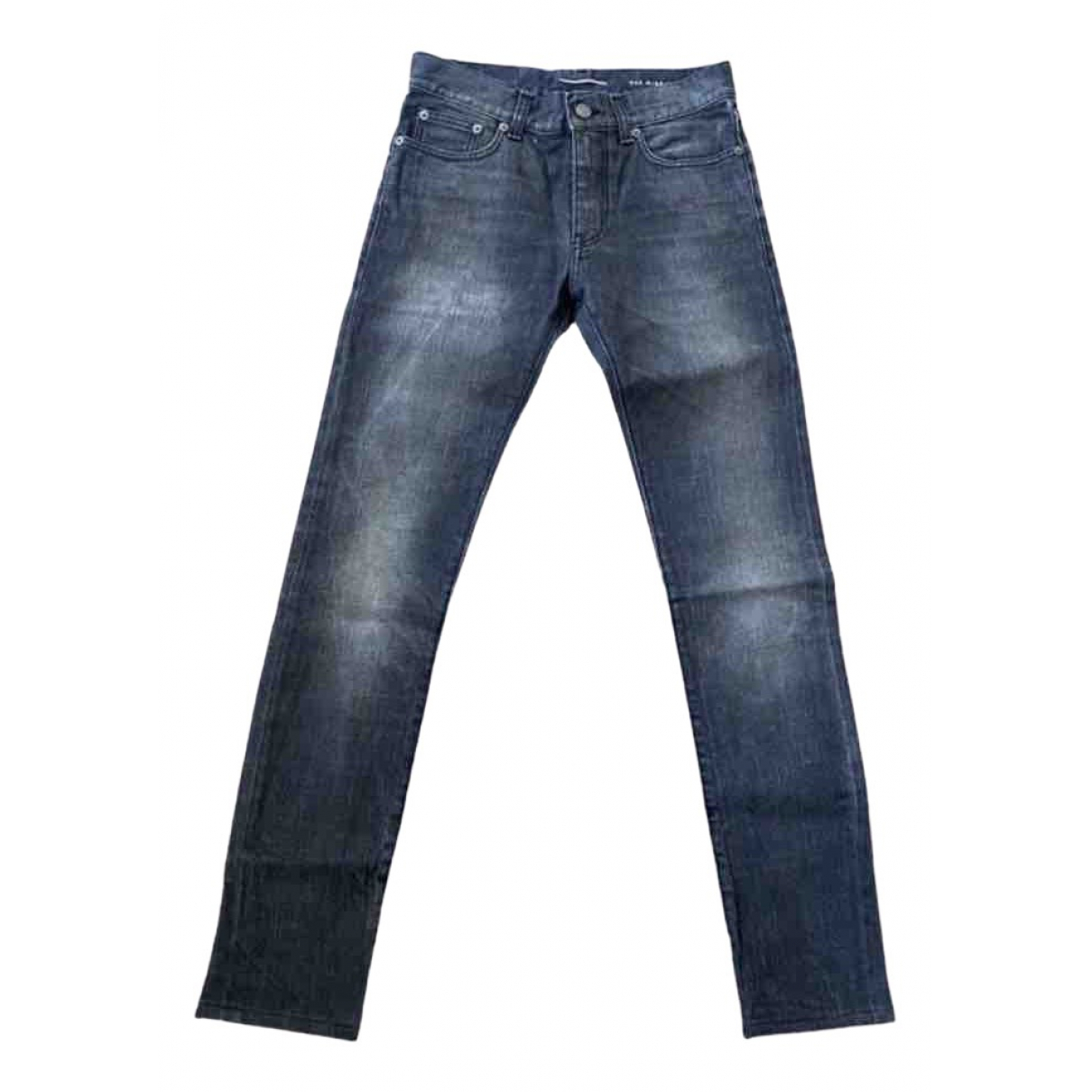 Saint Laurent N Grey Cotton - elasthane Jeans for Men 28 US