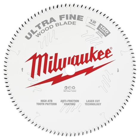 Milwaukee 12 in. 100T Ultra Fine Finish Circular Saw Blade
