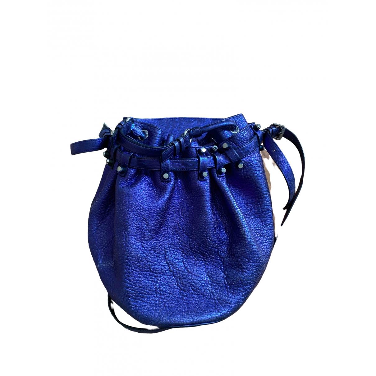 Alexander Wang Diego Purple Leather handbag for Women \N