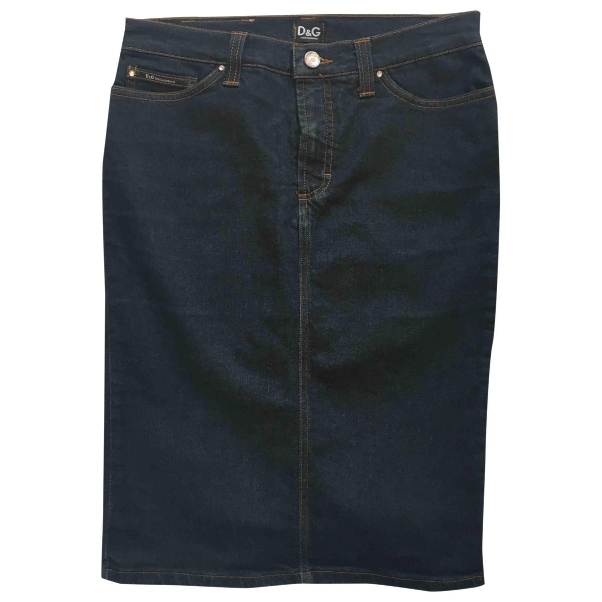 D&g \N Rocke in  Blau Denim - Jeans