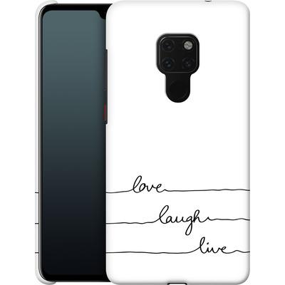 Huawei Mate 20 Smartphone Huelle - Love, Laugh, Live von Mareike Bohmer