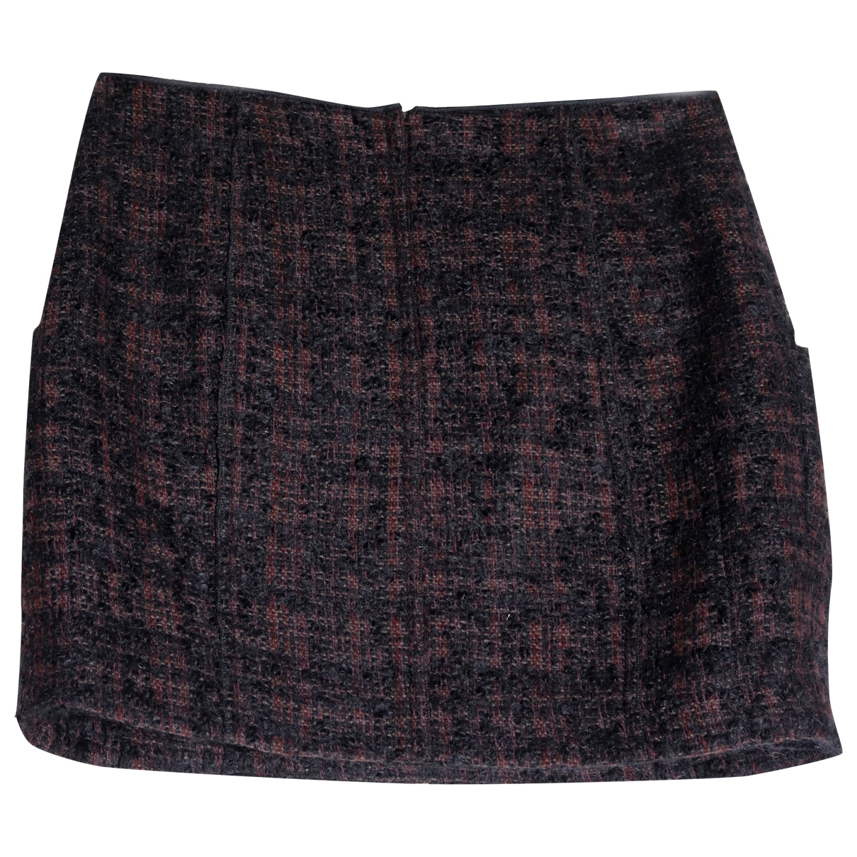 Prada \N Burgundy Wool skirt for Women 42 IT